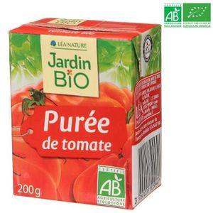 TOMATE JARDIN BIO Purée tomate bio 200g