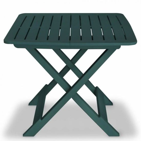 R88 Couleur Vert Berne Cet ensemble de bistro se compose d\'1 table ...