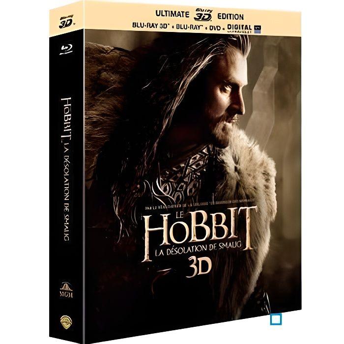 BLU-RAY FILM Le Hobbit – La désolation de Smaug – BLURAY 3D