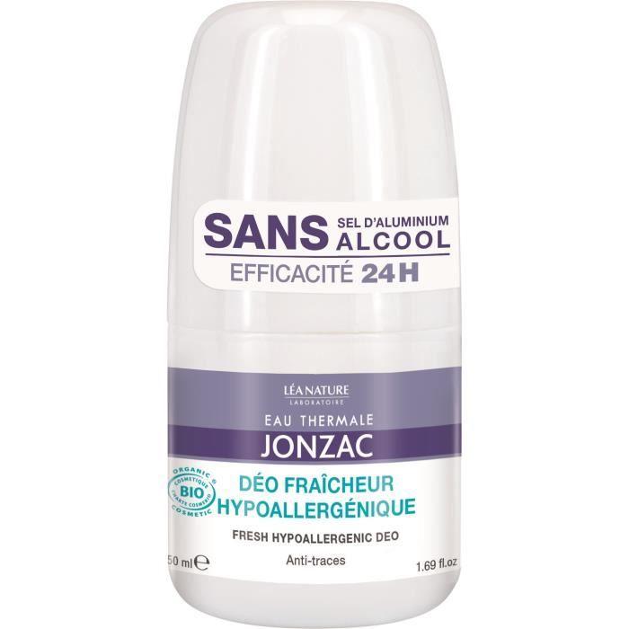 EAU THERMALE JONZAC Déodorant fraîcheur Réhydrate - Hypoallergénique - 50 ml