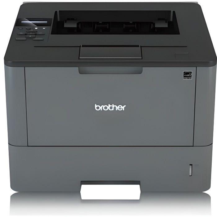 Brother Imprimante HL-L5200DW - Laser - Monochrome - Recto/Verso - WiFi - USB 2.0 - A4