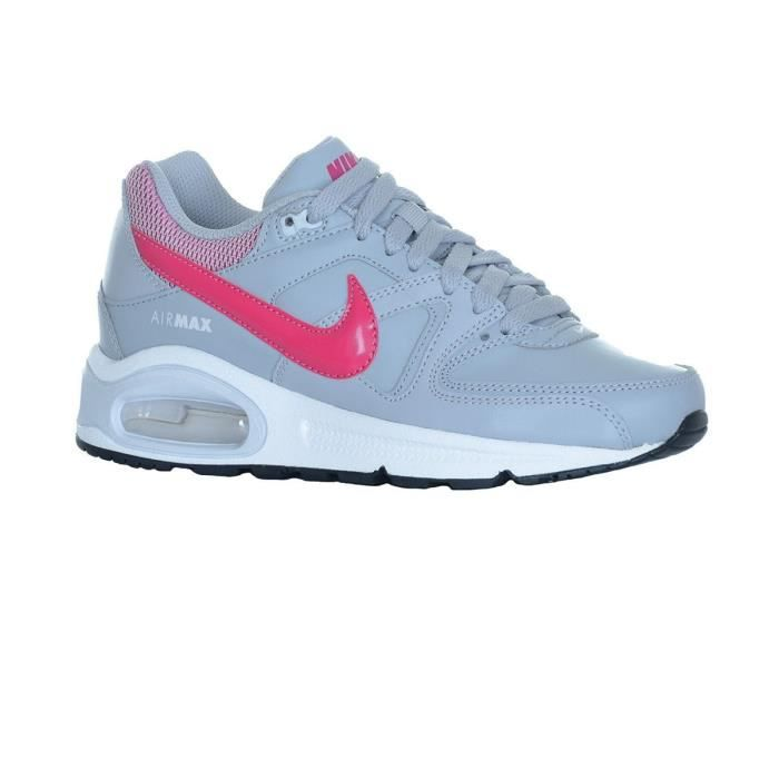 Chaussures Air Max Command Jr Fille Gris Rose Nike Gris Achat