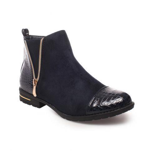 Mael Chelsea matière Bleu Bi Boots ErvwxrqtIZ