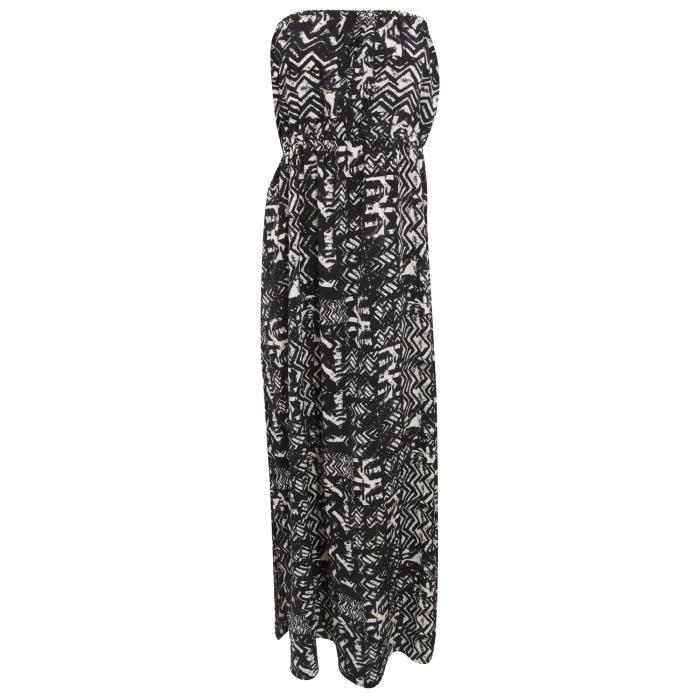 Maxi robe à imprimé aztèque - Femme