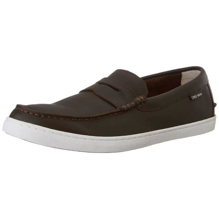 Cuir Zmloo Hommes Pour Loafer Penny Cole Weekender Haan Moustaches X1wxqp4