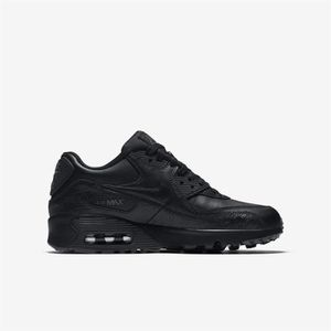... BASKET Chaussures Nike Air Max 90 Leather 897987 001 ...