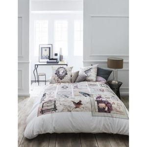 housse de couette romantique achat vente pas cher. Black Bedroom Furniture Sets. Home Design Ideas