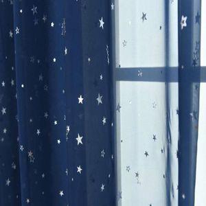 VOILAGE 1PC Rideaux de Fenêtre de Le Voile 2,7 m pour Balc