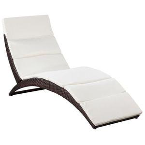 Chaise longue interieur - Achat / Vente pas cher