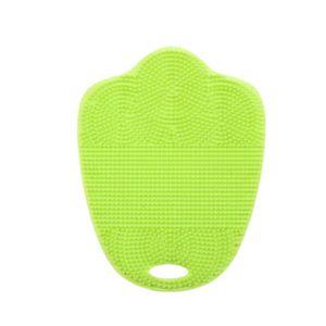 BROSSE À MAIN Nettoyage antibactériennes silicone Pinceau plat P