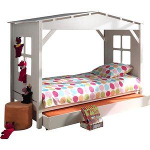 lit avec tiroir lit en pin achat vente lit avec tiroir lit en pin pas cher soldes d s le. Black Bedroom Furniture Sets. Home Design Ideas