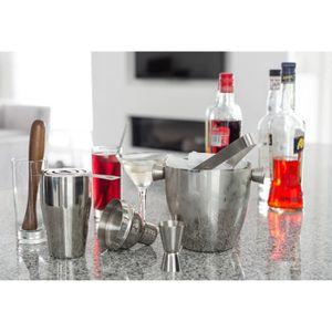 SHAKER - SET COCKTAIL  BARcrafts cocktail kit - cocktail shaker set - 7 p