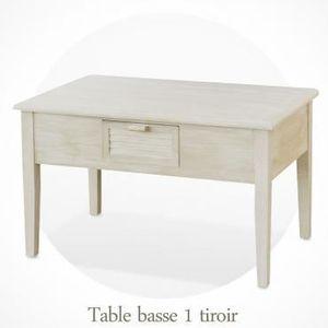 Table Basse Bois Vieilli Achat Vente Pas Cher