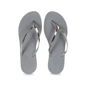 TONG Tongs femme HAVAIANAS slim You grise