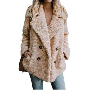 MANTEAU - CABAN Kingwing® Manteau solide femme simple boutonnage c1c61d9050e5