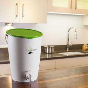 COMPOSTEUR - ACCESSOIRE Composteur Kit Urban 15L vert avec Speedy compost