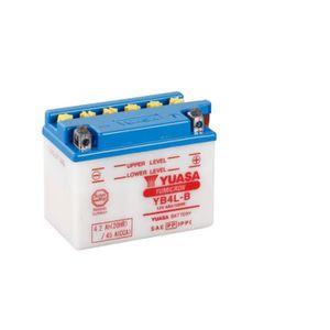 BATTERIE VÉHICULE Batterie YUASA YB4L-B conventionnelle livrée avec