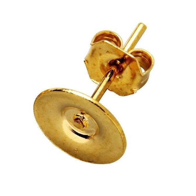 Boucles d'oreille - en métal - Sachet de 5 pairesSUPPORT BIJOUX - SUPPORT BAGUE - BARRETTE A CHEVEUX - BOUCLE D'OREILLE - BRACELET - BROCHE