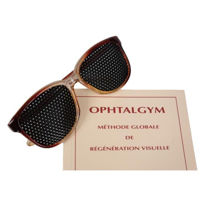 LUNETTES DE VUE Lunettes Ophtalgym - lunettes à trous et livre