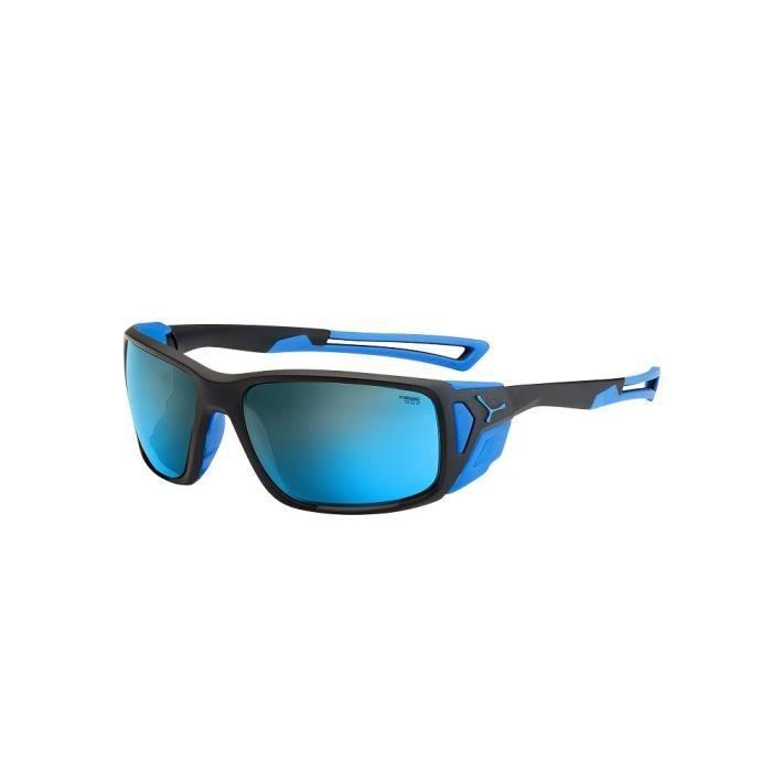 989e489cdb9eb5 Cébé Proguide Lunettes de soleil Matte Black-Blue 4000 Grey Mineral Flash  Blue Taille L