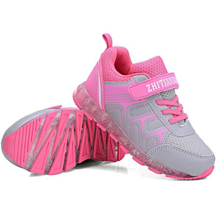 Enfants Sneakers mode lumineux éclairé coloré U...