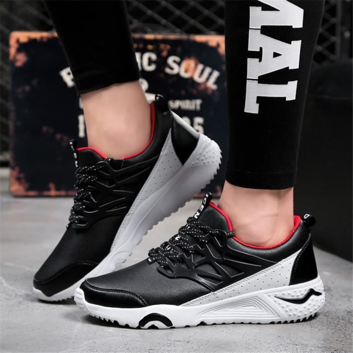 Nouveau Simple Chaussure Hommes Basket MâleCo...
