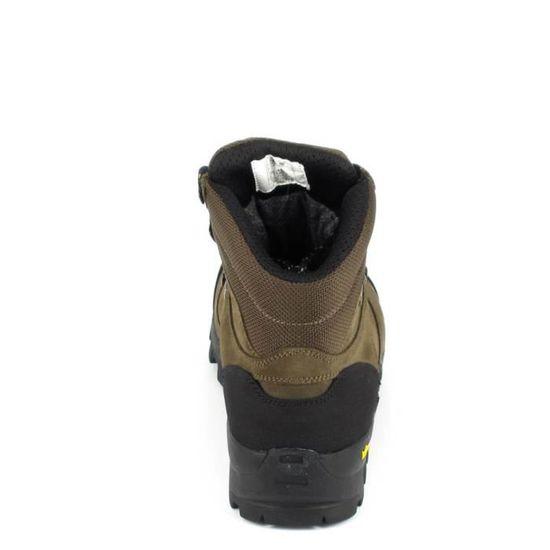 026ff3c605603d AIGLE Chaussures imperméable traque Altavio Mid GTX - Homme - Marron sépia  et noir - Prix pas cher - Cdiscount