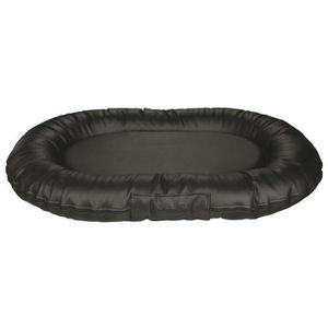 TRIXIE Coussin Samoa Sky - Imitation cuir - 120x95cm - Noir - Pour chien