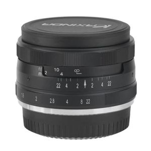 PLANCHE POUR LENTILLE Objectif de caméra 3536 F1.6 Manuel Focus Prime Fi