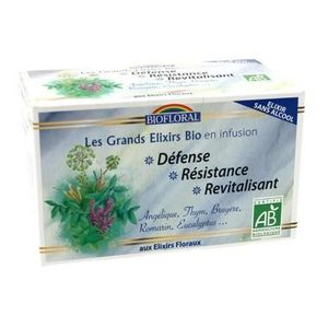 INFUSION infusion défense resistance Bio - 20 sachets