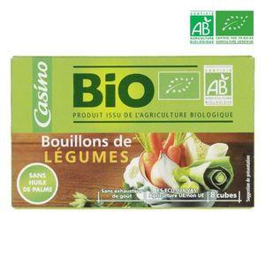 BOUILLON - FOND SAUCE Bouillon de légumes - Biologique - 8 x 10 g - 80 g