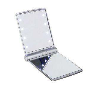 miroir de poche lumineux achat vente miroir de poche lumineux pas cher cdiscount. Black Bedroom Furniture Sets. Home Design Ideas