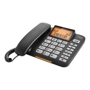 Téléphone fixe Gigaset DL580 Téléphone filaire avec ID d'appelant