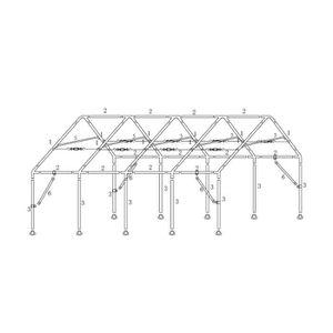 ABRI JARDIN - CHALET TR 50mm structure suivante 5x2m-2-34