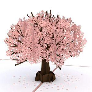 Carte De Visite Fleur CerisierCarte 3DCarte DAnniversaire