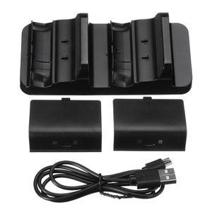 CHARGEUR CONSOLE TEMPSA Support charger+2 batterie 300 mA+câble pou