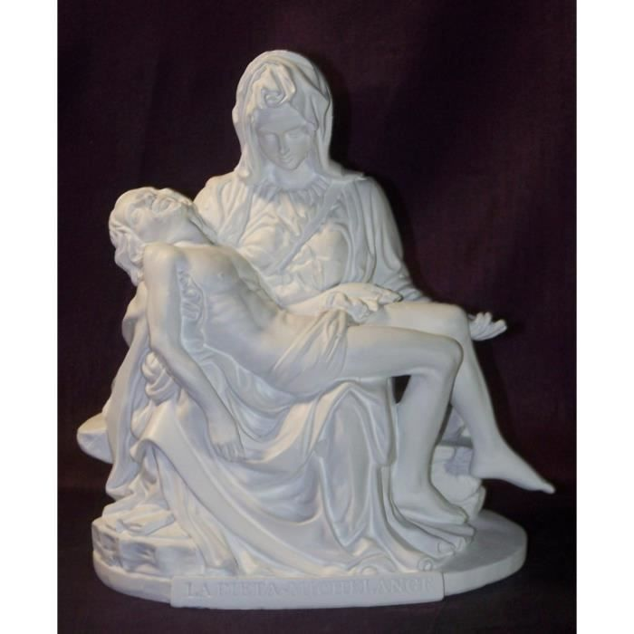 Statuette Pieta De Michel Ange