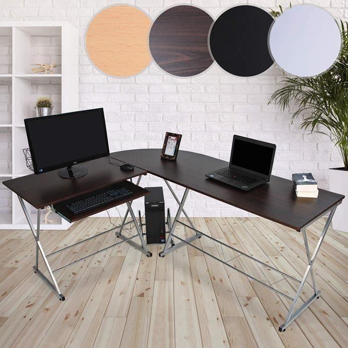 bureau bureau dangle table informatique meuble dordinat - Meuble D Angle Ordinateur