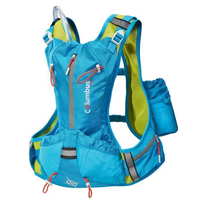 info pour 24738 4e46d COLUMBUS Sac de trail Vann 4 - Bleu