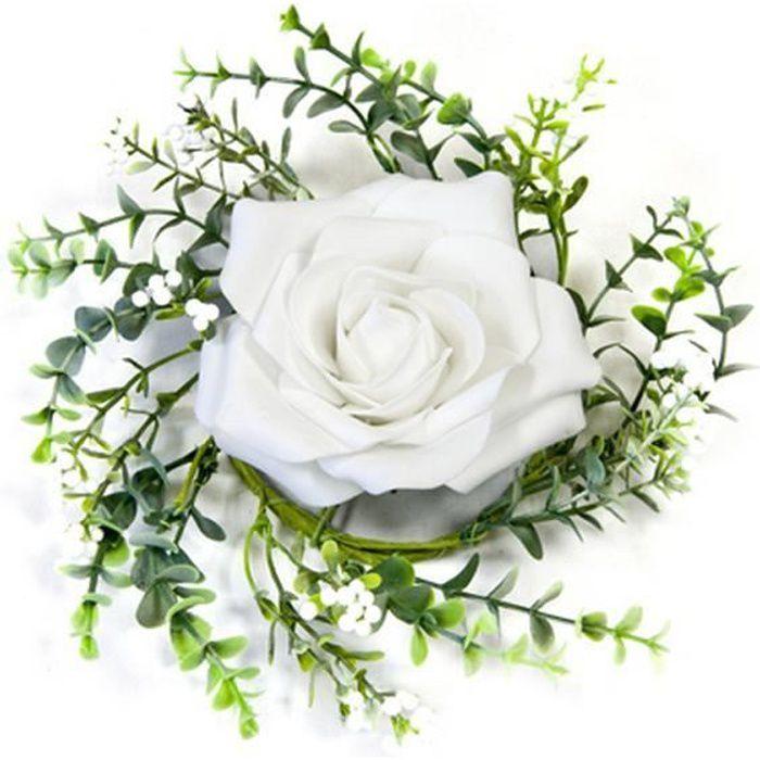 Centre De Table Fleur Artificiel Achat Vente Pas Cher
