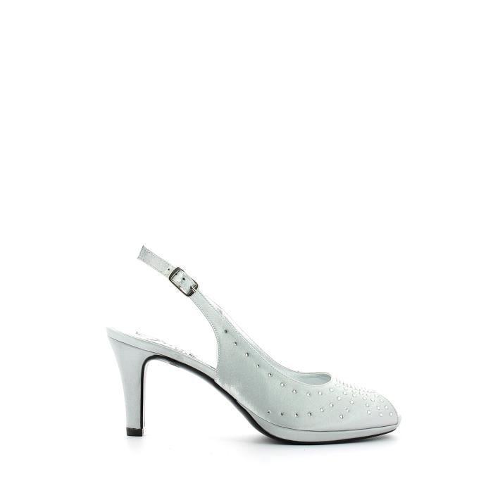 Grace shoes Sandales à talons hauts Femmes Argent