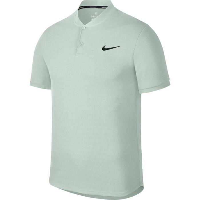 6083575812a7c Polo Nike Advantage Vert Barely Grey Été 20 - Prix pas cher - Cdiscount