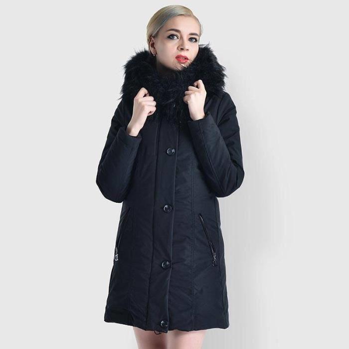 Hiver Capuche Hugo Longue Fit Fausse Slim Femme Vêtements Manteau Chaud Boutique Fashion Fourrure Mi pSUVzM