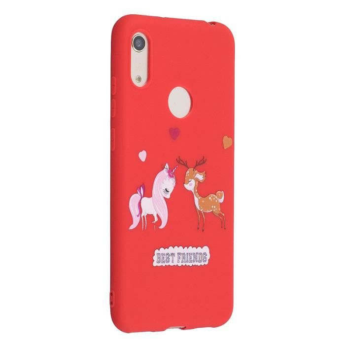 coque huawei y6 pro cheval