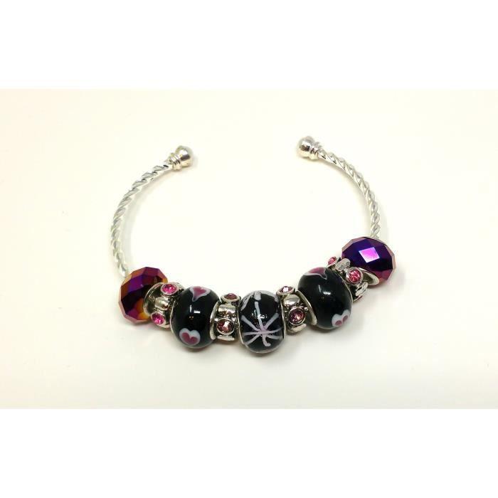 Femmes Rajouter Charm Bracelet - berceuses de Rolling Amour GUAKG