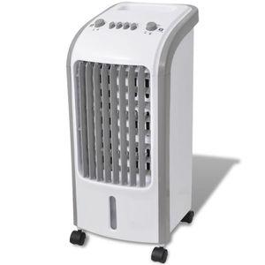 VENTILATEUR Rafraichisseur d'air refroidisseur d'air 80 W 5 L