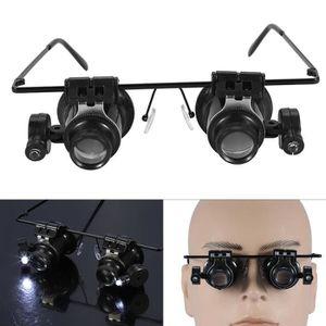 LUNETTES DE LECTURE Eye Glasses 20x loupe grossissante bijoutier outil ... 3594abaf1d0e