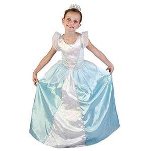 a84a15b825711 DÉGUISEMENT - PANOPLIE Costume Enfant Luxe Princesse Bleue, S 4/6 Ans