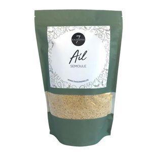 EPICE - HERBE Ail - Semoule - Sac de Kraft de 500 gr - Aromate d