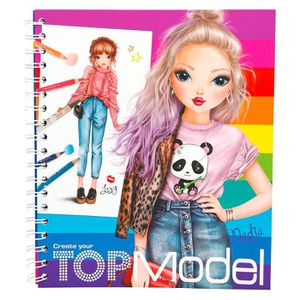 Tops models coloriage achat vente pas cher - Dessin top model ...